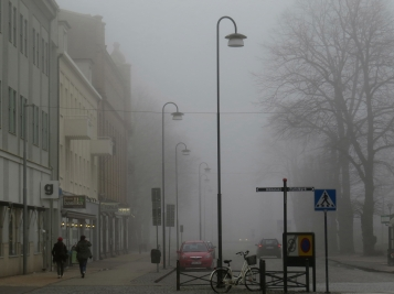 landskrona into the fog