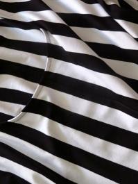 like a zebra