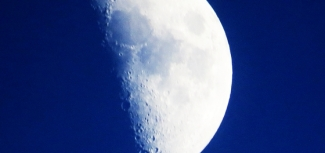 moon close up
