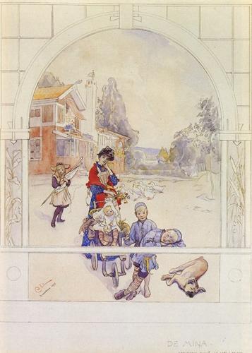 Carl Larsson - My Loved Ones _1893_ - kevinalfredstrom com