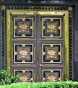 Russian Embassy door