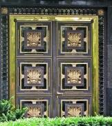 Russian Embassy door