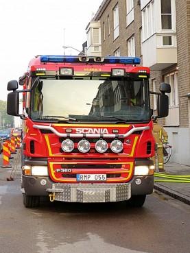 fire van