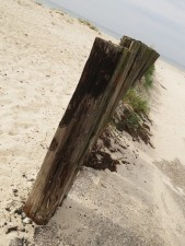 miles of white sand