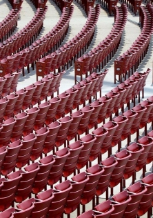 seats at Jay Pritzker Pavilion, Chicago