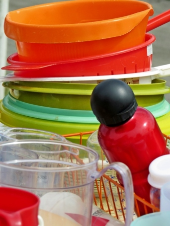 colorful plastic