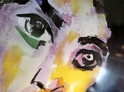 hilma poster close up