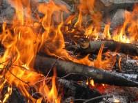 Campfire in Canada