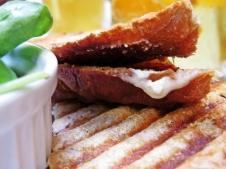 goat's cheese toastie