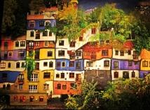 Hundertwasser House poster