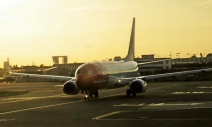 into the sunset, CPH airport