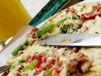 lunch bruschetta