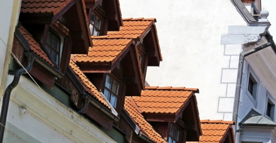 old building new roof