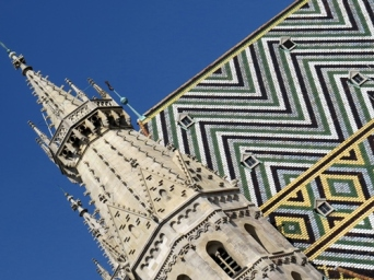Stephen's Cathedral - new roof