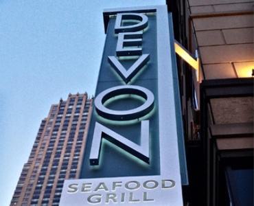 devon seafood sign - devonseafood com