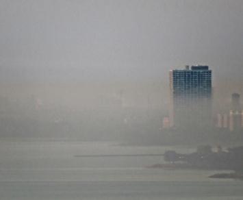 lake morning mist