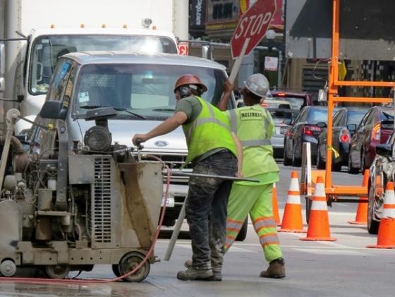 North State Street repairs