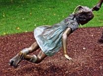 Statue of Children Playing 1