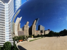 Cloud Gate (Silver Bean), Chicago - USA