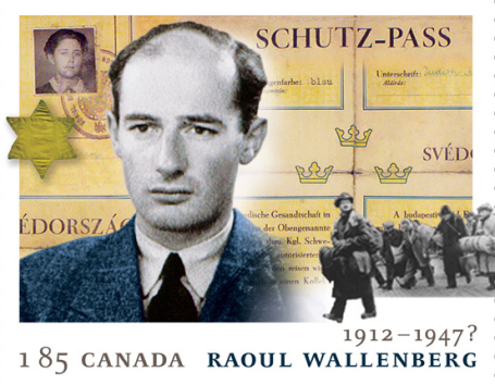 raoul wallenberg- canada stamp - thedailybeast com
