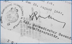 raoul wallenberg - passport - regeringen se