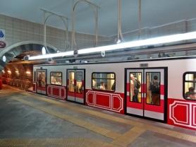 tunel train