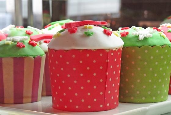 x-mas cupcakes