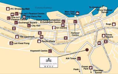 cosmopolitan - map - .asiatravel com
