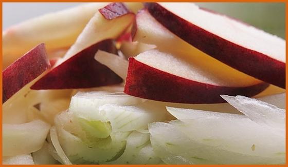 onion & apple