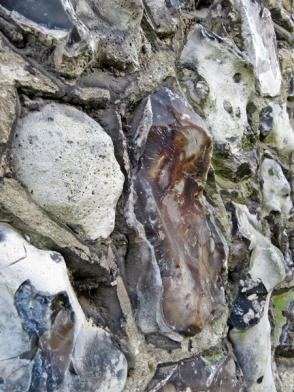 house flint wall