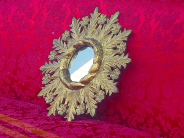 mirror on the sofa