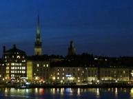 stockholm - evening lights