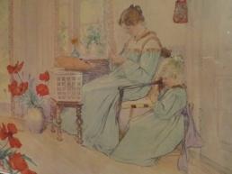 Krøyer - very much Carl Larsson