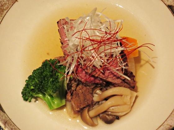 beef dish - Kurayado Iroha
