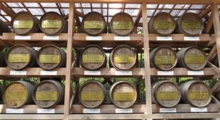 Emperor Meiji wine collection