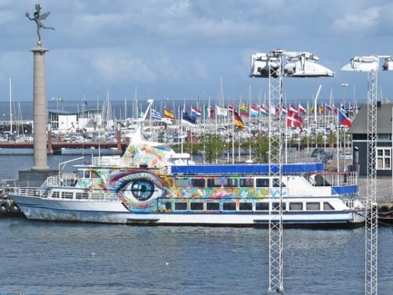 eye catching ferry