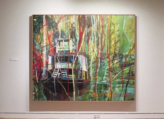 Okahumkee (Some other Peoples Blues) Peter Doig