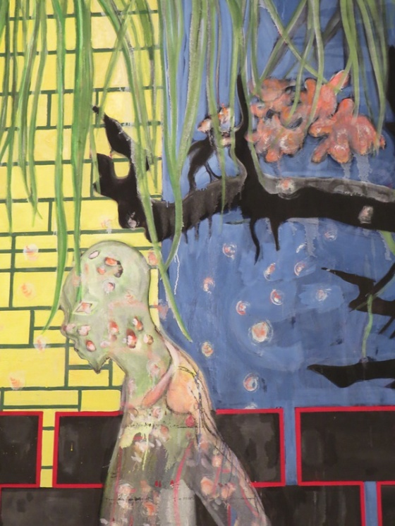 Peter Doig - house of flowers