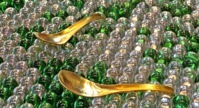 golden spoons