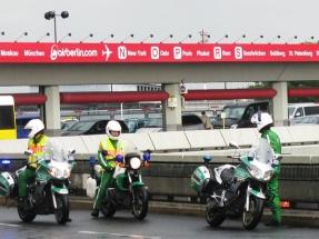 police escort, berlin