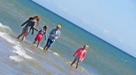 children and the sea