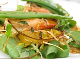 prawn salad -boat house