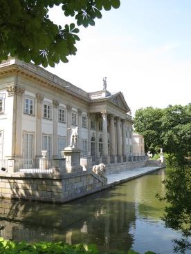 The Lazienki Palace 1