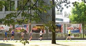 UK in training