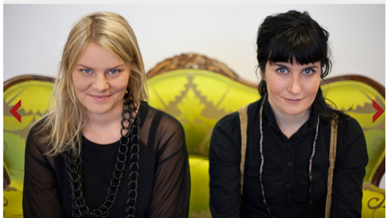 Anna Haupt and Terese Alstin - culture.you-ng it