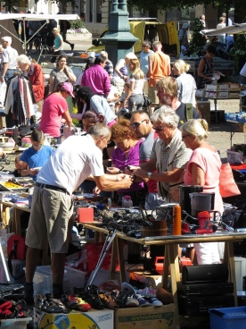 busy stall