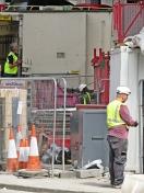 construction work close up
