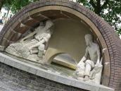 George V memorial fountain