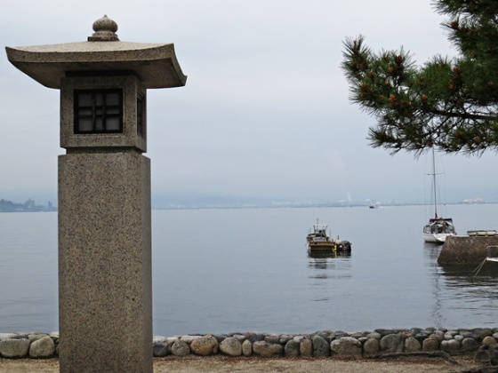 Miyajima harbor view