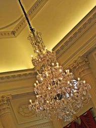 pump room chandelier